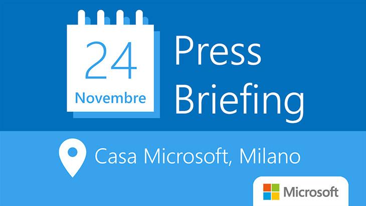 Press Briefing Casa Microsoft - Directio leader dello sviluppo tecnologico per le piattaforme e-learning (PARTE 1)