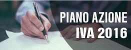 Piano azione IVA 2016