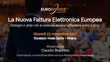 La Nuova Fattura Elettronica Europea